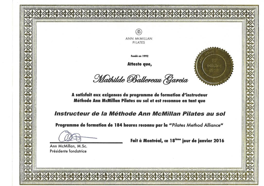 diplôme-pilates