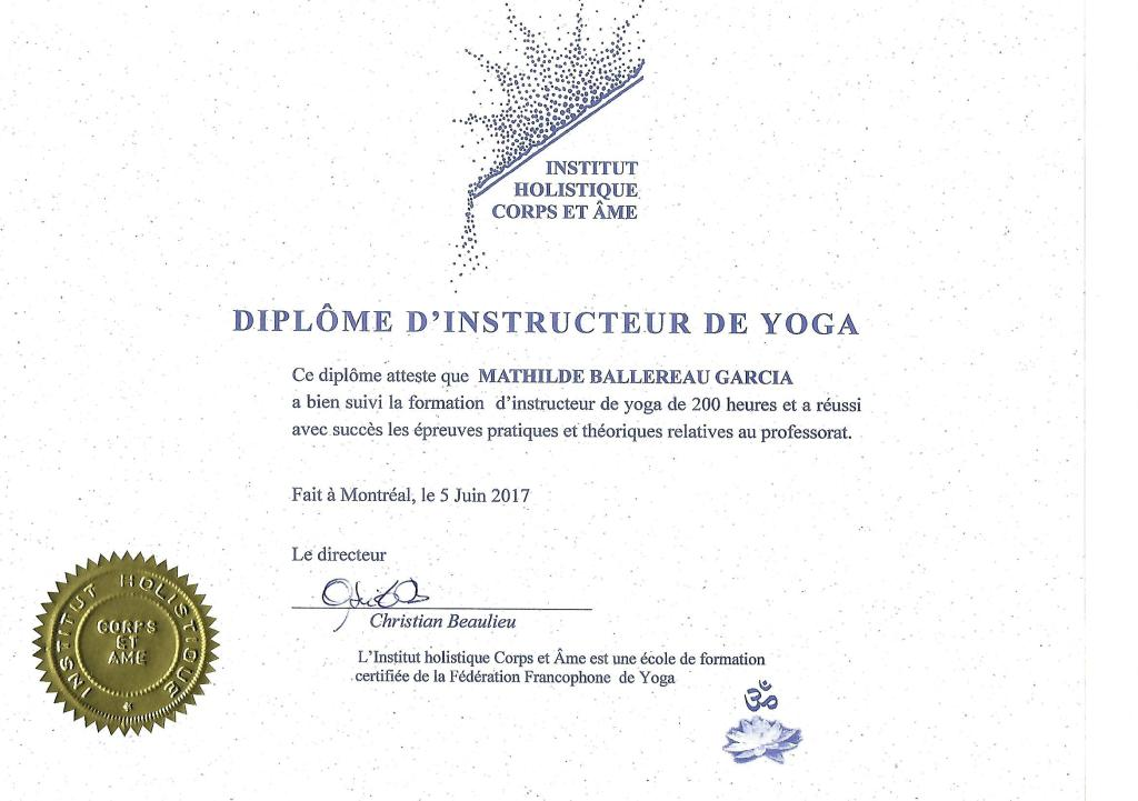 diplôme-yoga